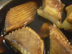 かすべ(ガンギエイ)の煮付け | 肴道